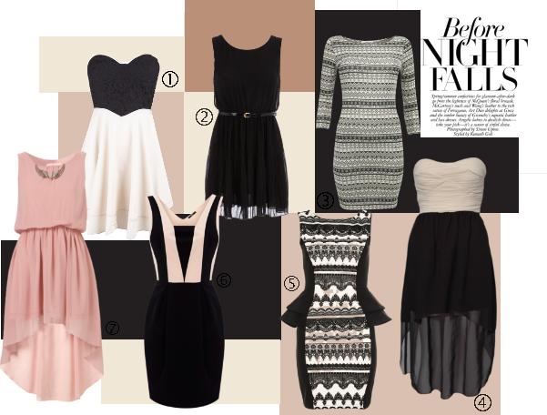 Un petit Polyvore pour vous : Blanc, rose, noir à - de 50€ dans Mode mode-2
